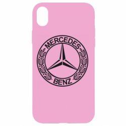 Чохол для iPhone XR Mercedes Логотип