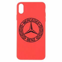 Чохол для iPhone Xs Max Mercedes Логотип