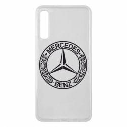 Чохол для Samsung A7 2018 Mercedes Логотип