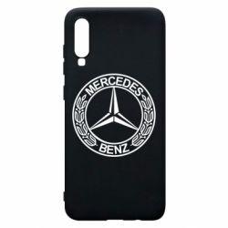 Чохол для Samsung A70 Mercedes Логотип