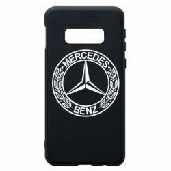 Чохол для Samsung S10e Mercedes Логотип