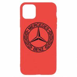 Чохол для iPhone 11 Pro Max Mercedes Логотип