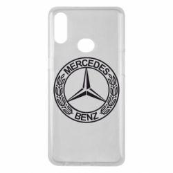 Чохол для Samsung A10s Mercedes Логотип