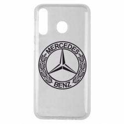 Чохол для Samsung M30 Mercedes Логотип