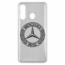 Чохол для Samsung M40 Mercedes Логотип