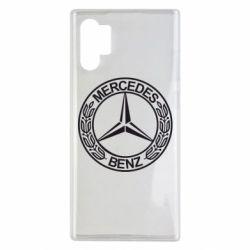 Чохол для Samsung Note 10 Plus Mercedes Логотип