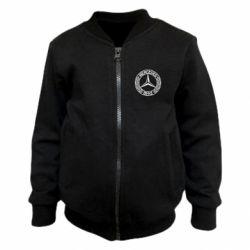 Дитячий бомбер Mercedes Логотип
