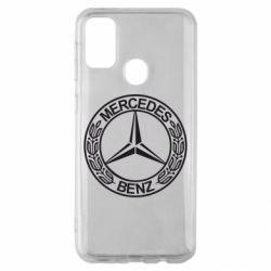 Чохол для Samsung M30s Mercedes Логотип