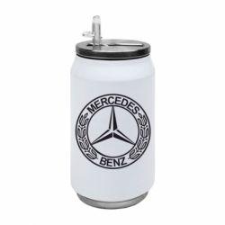 Термобанка 350ml Mercedes Логотип