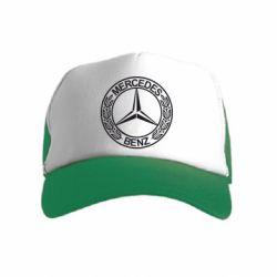 Дитяча кепка-тракер Mercedes Логотип