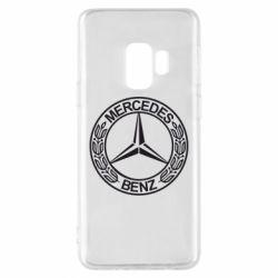 Чохол для Samsung S9 Mercedes Логотип