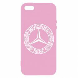 Купить Чехол для iPhone5/5S/SE Mercedes Logo, FatLine