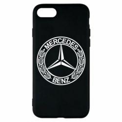 Чохол для iPhone 7 Mercedes Логотип