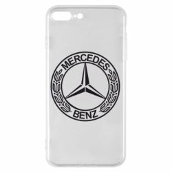 Чохол для iPhone 8 Plus Mercedes Логотип