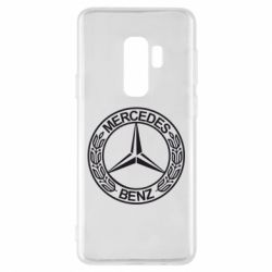 Чохол для Samsung S9+ Mercedes Логотип