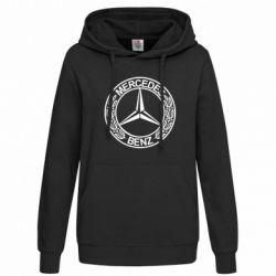 Женская толстовка Mercedes Logo - FatLine