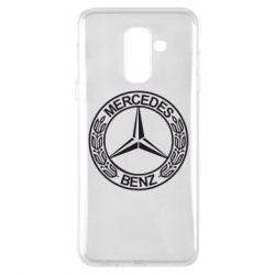 Чохол для Samsung A6+ 2018 Mercedes Логотип