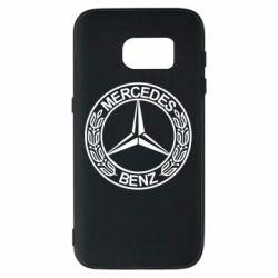 Чохол для Samsung S7 Mercedes Логотип