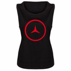 Женская майка Mercedes new logo