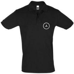 Мужская футболка поло Mercedes new logo