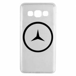 Чехол для Samsung A3 2015 Mercedes new logo