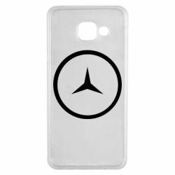Чехол для Samsung A3 2016 Mercedes new logo
