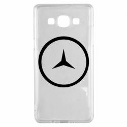 Чехол для Samsung A5 2015 Mercedes new logo