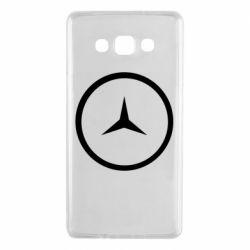 Чехол для Samsung A7 2015 Mercedes new logo