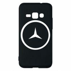 Чехол для Samsung J1 2016 Mercedes new logo