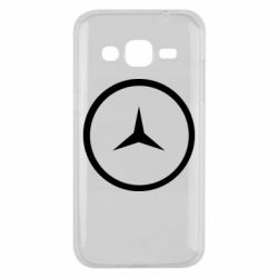Чехол для Samsung J2 2015 Mercedes new logo