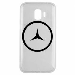 Чехол для Samsung J2 2018 Mercedes new logo