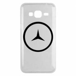 Чехол для Samsung J3 2016 Mercedes new logo