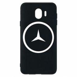 Чехол для Samsung J4 Mercedes new logo