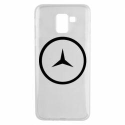 Чехол для Samsung J6 Mercedes new logo