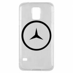 Чехол для Samsung S5 Mercedes new logo