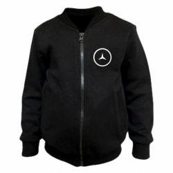 Детский бомбер Mercedes new logo