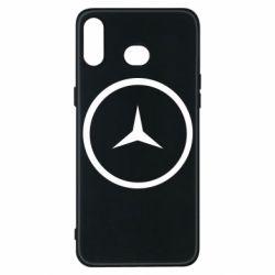 Чехол для Samsung A6s Mercedes new logo
