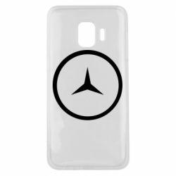 Чехол для Samsung J2 Core Mercedes new logo