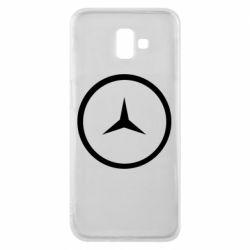 Чехол для Samsung J6 Plus 2018 Mercedes new logo