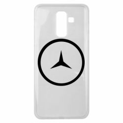 Чехол для Samsung J8 2018 Mercedes new logo