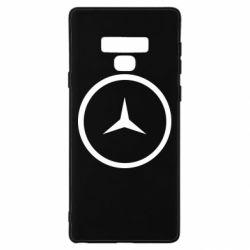 Чехол для Samsung Note 9 Mercedes new logo