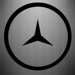 Наклейка Mercedes new logo