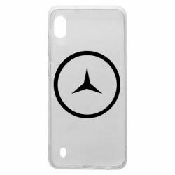 Чехол для Samsung A10 Mercedes new logo