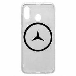 Чехол для Samsung A20 Mercedes new logo