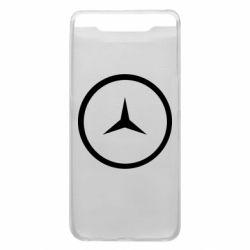 Чехол для Samsung A80 Mercedes new logo