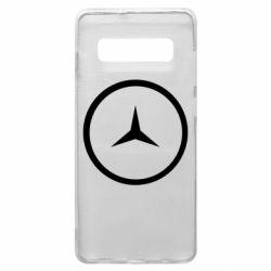 Чехол для Samsung S10+ Mercedes new logo