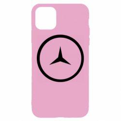 Чехол для iPhone 11 Mercedes new logo