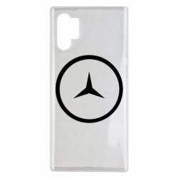 Чехол для Samsung Note 10 Plus Mercedes new logo