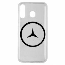Чехол для Samsung M30 Mercedes new logo