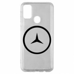 Чехол для Samsung M30s Mercedes new logo